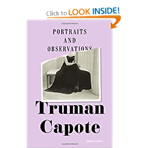 Portraits and Observations (Modern Library) Truman Capote