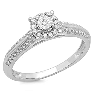1/10 Total Carat Weight DIAMOND FASHION RING