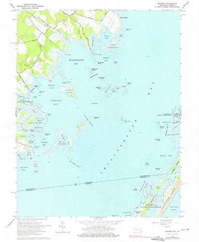 YellowMaps Boxiron MD topo map, 1:24000 Scale, 7.5 X 7.5 Min