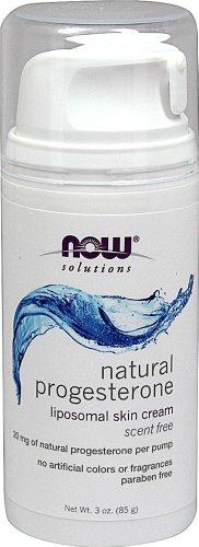 NOW Foods progestérone naturelle liposomale Crème-3 Crème