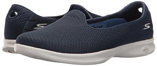 Skechers Go Step Lite Origin Womens Chaussure - SS17 Navy/Gray