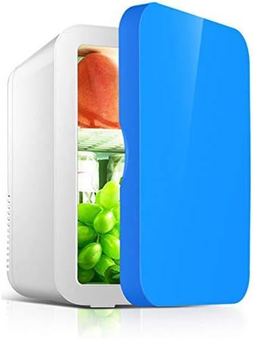 KTops Mini-Kühlschrank Cooler 8 Liter-beweglicher im Fahrzeug Gefrierschrank Quiet Compact Kühlschrank Thermoelectric Cooler und wärmer für Autos, Häuser, Büros, kosmetischer Speicher-48W,Blau