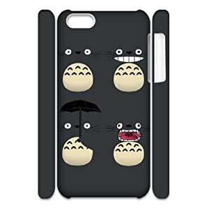 TOSOUL Totoro Phone 3D Case For Iphone 5C [Pattern-2]