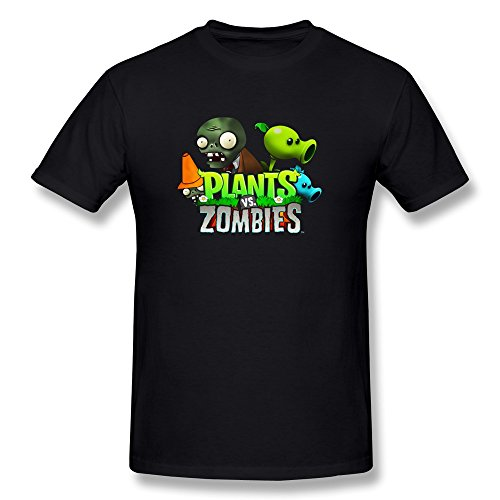Plants Vs Zombie pattern Men's T Shirts covid 19 (Plants Zombies Pattern coronavirus)