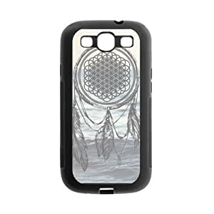 TPU Rubber Case Compatible with Samsung Galaxy S III / S3 i9300 Covers [BMTH Bring Me to the Horizon] hjbrhga1544