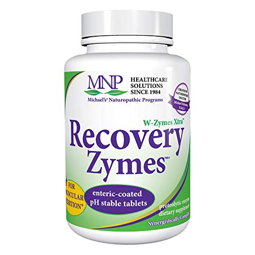 (Michael's Naturopathic Programs Recovery Zymes - 270 Enteric Coated pH Stable Tablets - Proteolytic Enzyme Supplement, Supports Natural Inflammatory Response - 90 Servings)
