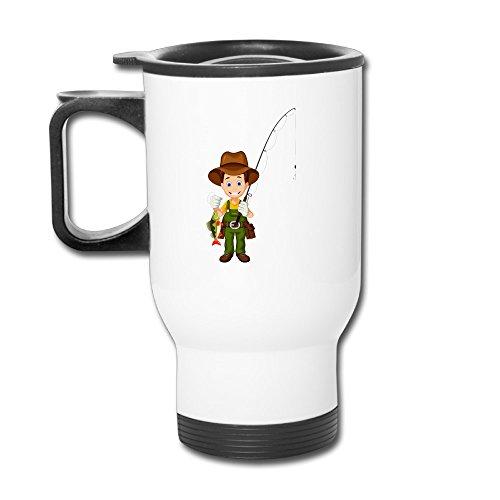Toys Go Cartoon Fisherman 36 Custom Cool Coffee Coffee Mug Coffee Travel Mug Coffee Thermos Thermos Coffee Travel Mug Coffee Thermos Custom Travel Blank Mug Business Mugs Travel Cup