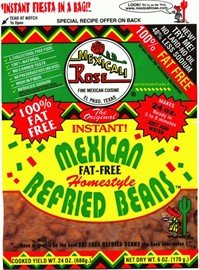 Mexicali Rose Instant Fat-Free Homestyle Refried Beans 7oz
