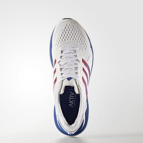 adidas Adizero Tempo AKTIV White Royal Red blanc/bleu roi/rouge foncé