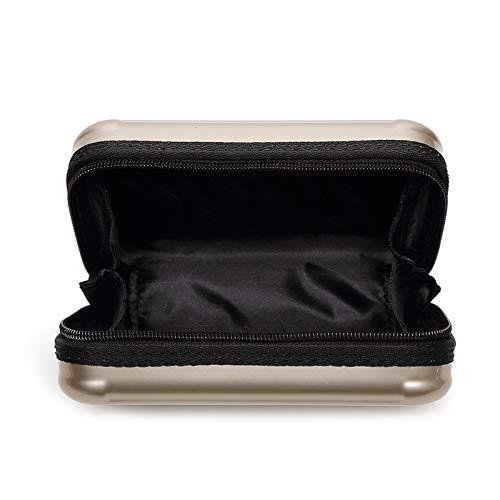 Black Borsa Sera Moda Borse Con Da Per Quadrata Donna Cosmetica Mini Xzw Pochette Nb Patta Piccole xpFpZ