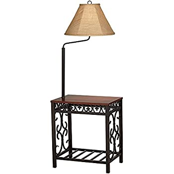 Travata end table floor lamp amazon travata end table floor lamp aloadofball Choice Image