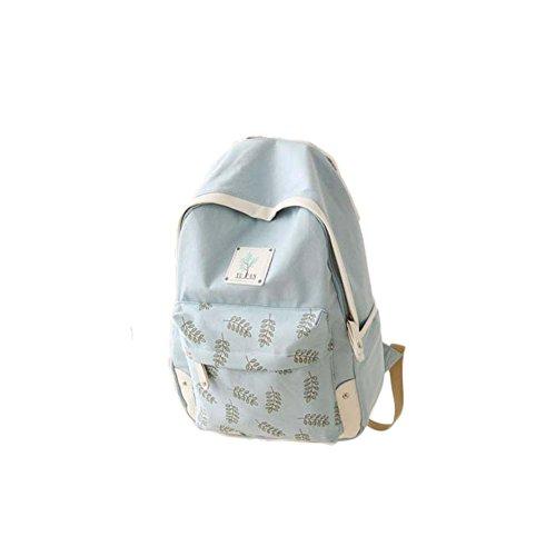 Fashion Student Bag Casual Canvas Rucksack Kleine Fresh Travel Rucksack_A7