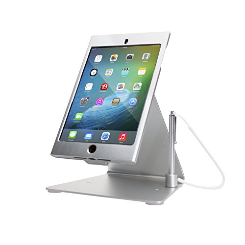 CTA Digital PAD-MDASS Desktop Anti-Theft iPad Mini Stand, Silver ()