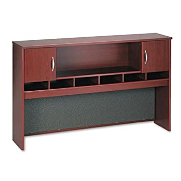 Mahogany 2-Door 72 Hutch By Bush Furniture
