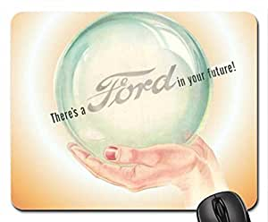 1945 A Ford in your future ad art Mouse Pad, Mousepad