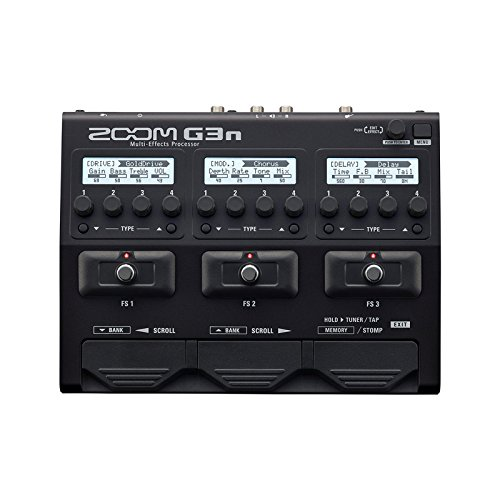 - Zoom G3N Multi Effects Processor for Guitar