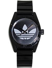 Adidas Women's Santiago ADH2776 Black Plastic Quartz Watch