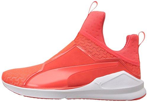 PUMA Women's Fierce Eng Mesh Cross-Trainer Shoe, Red Blast White, 5.5 M US by PUMA (Image #5)
