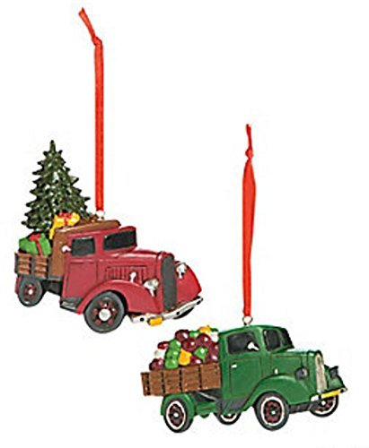Top 10 best old red truck christmas ornaments: Which is the best one in 2019?