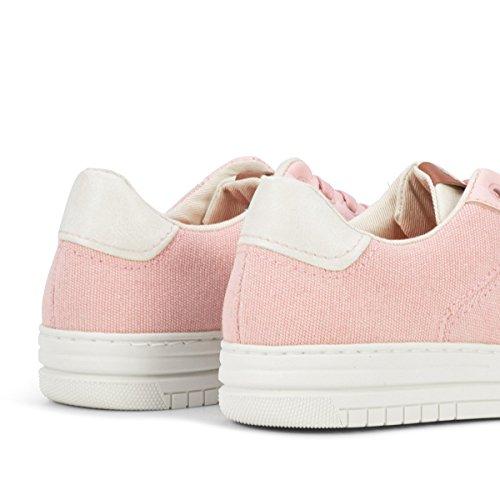 Pink Unisex Flamingos' Lona Marfil Banzai Zapatillas Life de wZx71qUZ