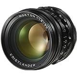 Voigtlander M 50mm f/1.5 Nokton Aspherical Lens - Leica M Mount Lens - Black