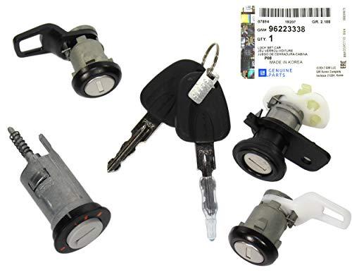 GM Ignition Switch Set Fits Daewoo Cielo Nexia 96223338