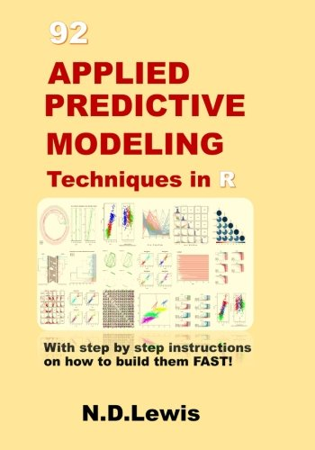 92 Applied Predictive Modeling Techniques in R: With step by step instructions on how to build them FAST! (Predictive Modeling compare prices)