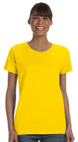 Gildan Heavy Cotton Ladies 5.3 oz. Missy Fit T-Shirt, 2XL, DAISY