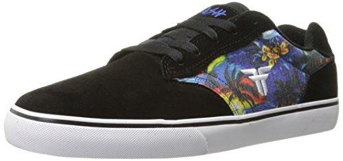 Falne Menns Slash Skateboard Sko Svart / Hvit / Hawaiisk