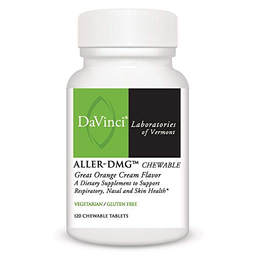 Davinci Laboratories - Aller-DMG Chewable, Histamine Blocker with Quercetin and Bromelain, 120 Count