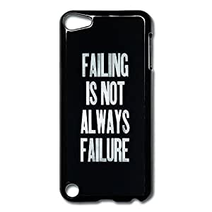 IPod Touch 5 Cases Fall Failure Design Hard Back Cover Shell Desgined By RRG2G