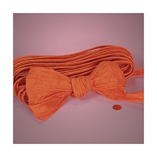 Orange Twisted Paper, 4-1/2 X 25Yd 4-1/2 X 25Yd Paper Mart 4336867506