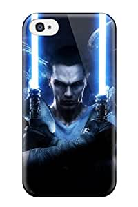For JmDBraly Iphone Protective Case, High Quality For Iphone 4/4s Star Wars Unleashed Skin YY-ONE