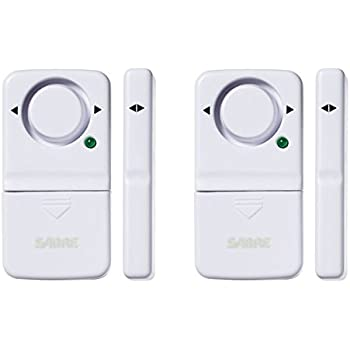 Door Window Entry Alarm With Magnetic Sensor Pack Of 2