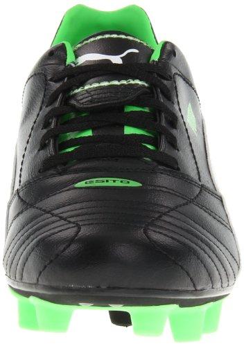 Puma Mens Esito Finale I FG Soccer Cleat Black/White/Fluro Green x4PUvdQNff