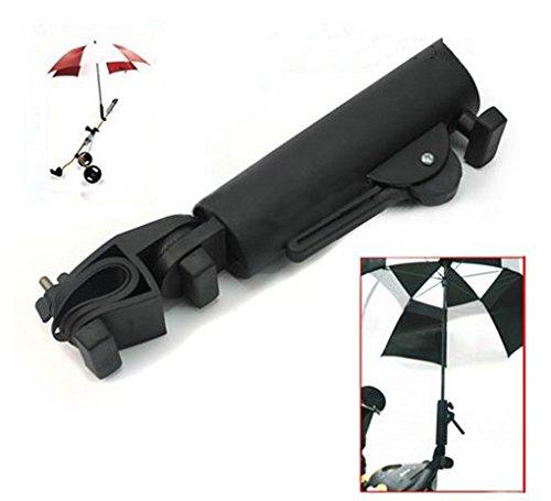 Adjustable Umbrella (Golf Cart Umbrella Holder, Adjustable Universal Umbrella Holder for All Golf Cart Wheelchair Bike Stroller)