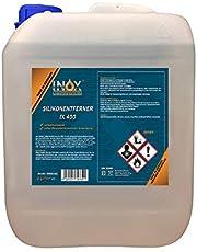 INOX® IX400 Siliconenverwijderaar, 5 liter, universele reiniger voor het losmaken en verwijderen van siliconen, vet, olie en was