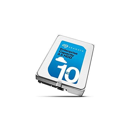Seagate Enterprise Capacity 3.5 HDD 10TB, SATA 6Gb/s 7,200RPM 512N (ST10000NM0016) by Seagate - Enterprise Single