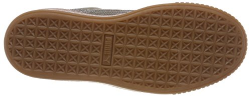 Puma Women's Suede Platform Bubble WN's Trainers, Brown (Bungee Cord 03), 4.5 UK