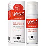 Yes To Tomatoes Daily Balancing Moisturizer for Clear Skin - Face Moisturizer Packed w/ Tomatoes, Watermelon Extract…