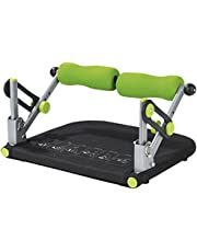 VITALmaxx 06030 Swingmaxx Fitnesstrainer Basic 5 in 1 | Trainiert Bauch, Rücken,  Beine & Arme | Platzsparend Verstaubar | Schwarz-Grün