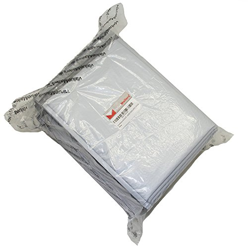 #0 Poly 6x10 Bubble Mailers Envelopes Bags Bag ( White 100 Count )