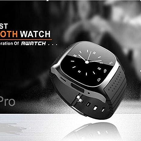 FRJGLAPRE Pulsera de Actividad Smartwatch M26 Bluetooth ...