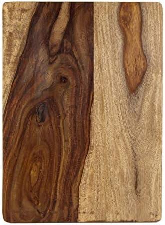 Amazon Com Architec 12 Inch X 16 Inch Gripperwood Gourmet Sheesham Cutting Board Kitchen Dining