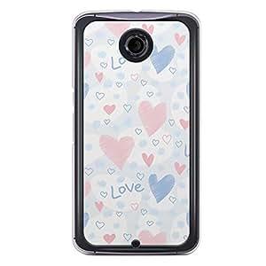Loud Universe Nexus 6 2015 Love Valentine Printing Files A Valentine 167 Printed Transparent Edge Case - Multi Color