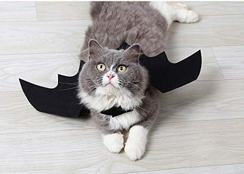 atimier Halloween Pet Bat Wings Cat Dog Bat Costume Pet Dog Bat Wings 21