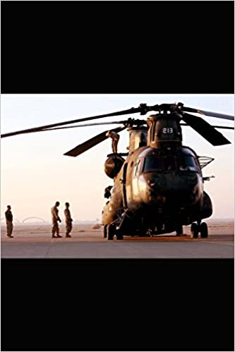 Buy Us Military Helicopter Ch 47 Chinook Journal: Take Notes, Write