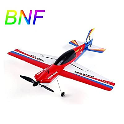 Pink Lizard Upgraded WLtoys F939 2.4G 4CH 6 Axis EPS Micro Pole Cat RC Airplane BNF
