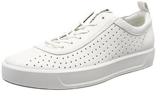 8 Basse Scarpe Uomo white Ginnastica Bianco Ecco Da Soft 4q5xwXzH