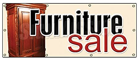 furniture sale sign. 36\u0026quot;x96\u0026quot; FURNITURE SALE BANNER SIGN Store Signs Sign Sofa Recliner Chair Dinette Furniture Sale